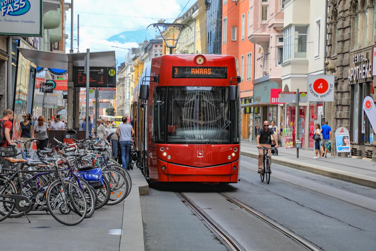 Vervoer in Innsbruck