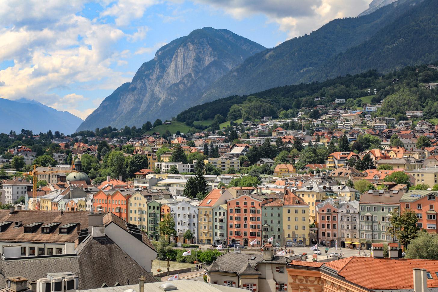 Stedentrip naar Innsbruck